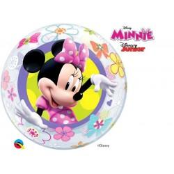 """Globo Bubble Minnie 22""""/56 cm."""