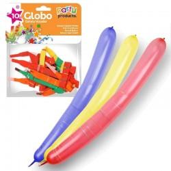 Globo Cohete Volador 10 un.