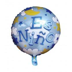 """Globo """"ES NIÑO"""" 41cm."""