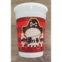 Vaso de Pirata 8 un.
