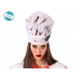 Gorro de Cocinero Sangriento