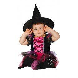 Disfraz de Brujita bebé niña