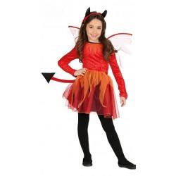 Disfraz de Diablesa Niña