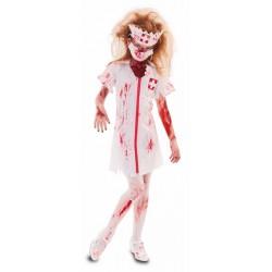 Disfraz de Enfermera Zombie...