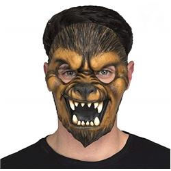 Máscara 1/2 cara de Lobo