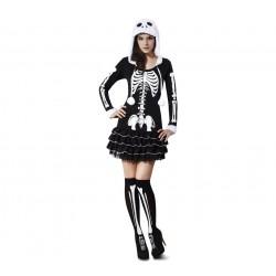 Disfraz de Esqueleta Descarada