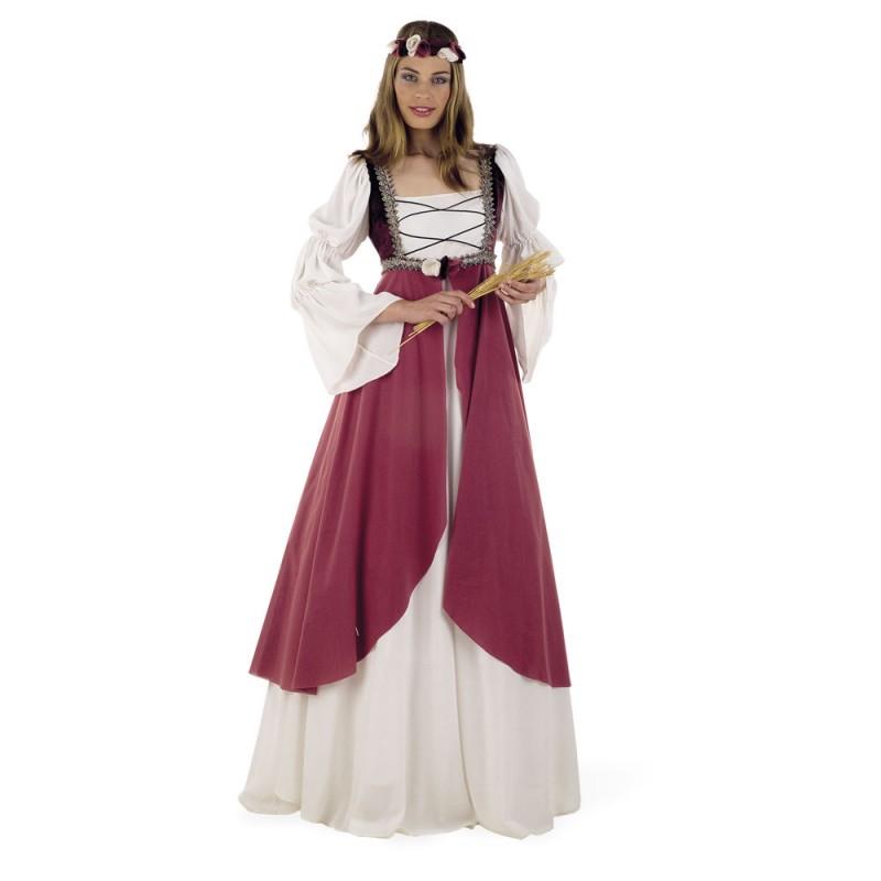 Disfraz Medieval Clarisa para mujer