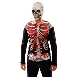 Camiseta de Esqueleto Zombie