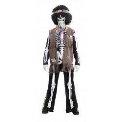 Disfraz de Esqueleto Hippie...