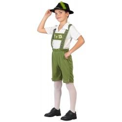 Disfraz de Tiroles para niño 10-12 años