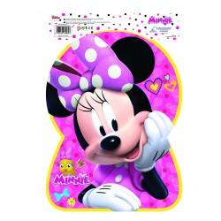 Piñata Silueta Minnie Pink Grande