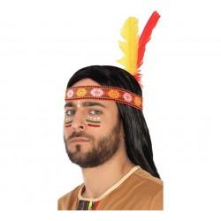 Cinta con Plumas de Indio