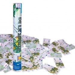 Cañon de Confeti Euros 40 cm.