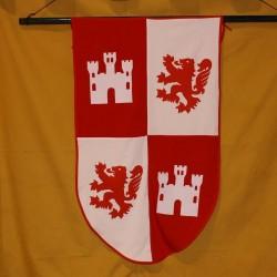 Estandarte Castilla y Leon 65 x 104 cm.