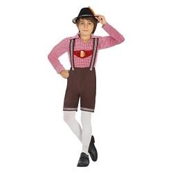 Disfraz de tiroles para niño 5-6 años