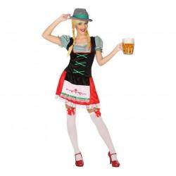 Disfraz de Tirolesa para mujer ML