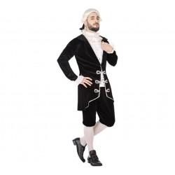 Disfraz de Cortesano Negro para hombre