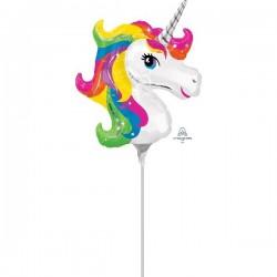 "Globo Unicornio Mini 9"""
