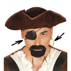 Parche de Pirata con Pendiente