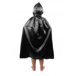 Capa Negra con Capucha 90 cm.