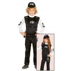 Disfraz de F.B.I. niño