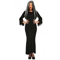 Disfraz de Dark Woman para mujer T-L