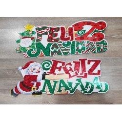 Cartel Feliz Navidad 55 x...