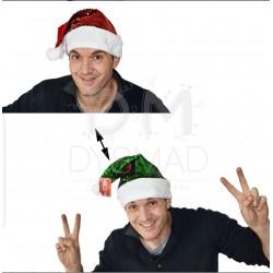 Gorro de Papa Noel...