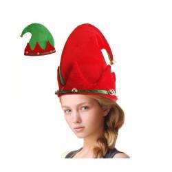 Gorro de Elfo con Cascabeles