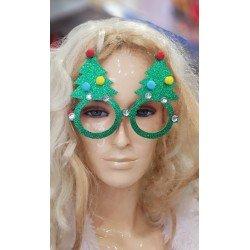 Gafas con Arbol de Navidad