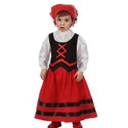 Disfraz de Pastorcilla bebe 6-12 meses