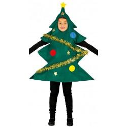 Disfraz de Pino de Navidad para niños