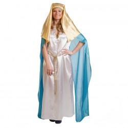 Disfraz de Virgen para mujer