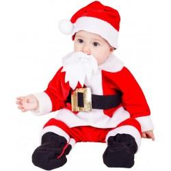 Disfraz de Papa Noel bebé 10 meses