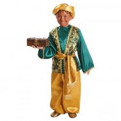 Disfraz de Paje Baltasar para niño