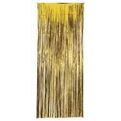 Cortina Metalizada Oro