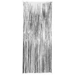 Cortina Metalizada Plata