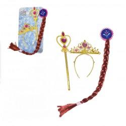 Conjunto de Princesa Pelirroja