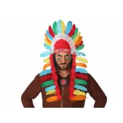 Penacho de Indio Multicolor...