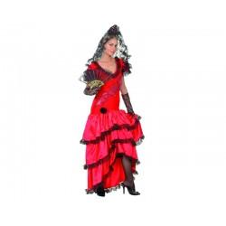 Disfraz de Manola Rojo para...