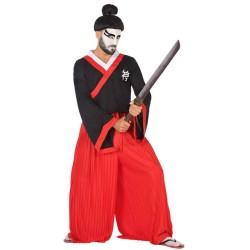 Disfraz de Guerrero Japonés para hombre