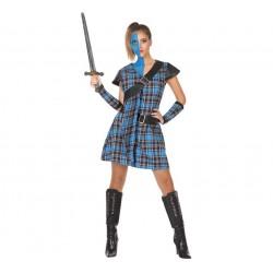 Disfraz de Escocesa Guerrera para mujer