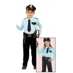 Disfraz de Policia para niño de 5-6 años