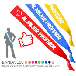 BANDA 100 AL MEJOR PROFESOR