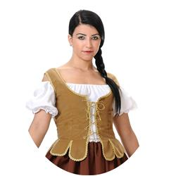 Corpiño Medieval para mujer