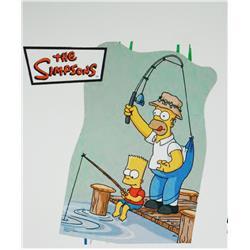 Piñata de Los Simpson Pescando