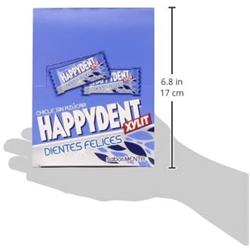 Happydent Menta Chicle Sin Azucar 200 unid.