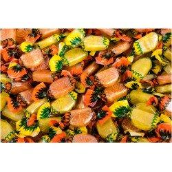 Caramelos Gajos Naranja y Limón 1 Kg.La Asturiana