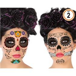 Tatuajes para el Dia de los Muertos
