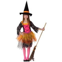 Disfraz de Bruja Tull para niña